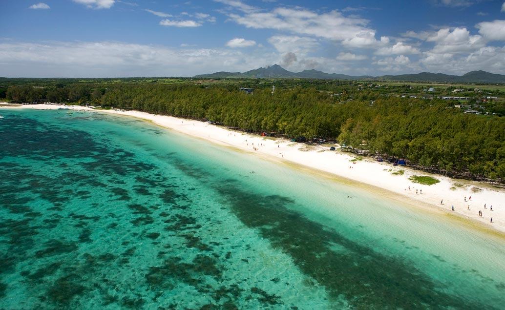 Autentický východ ostrova Mauricius