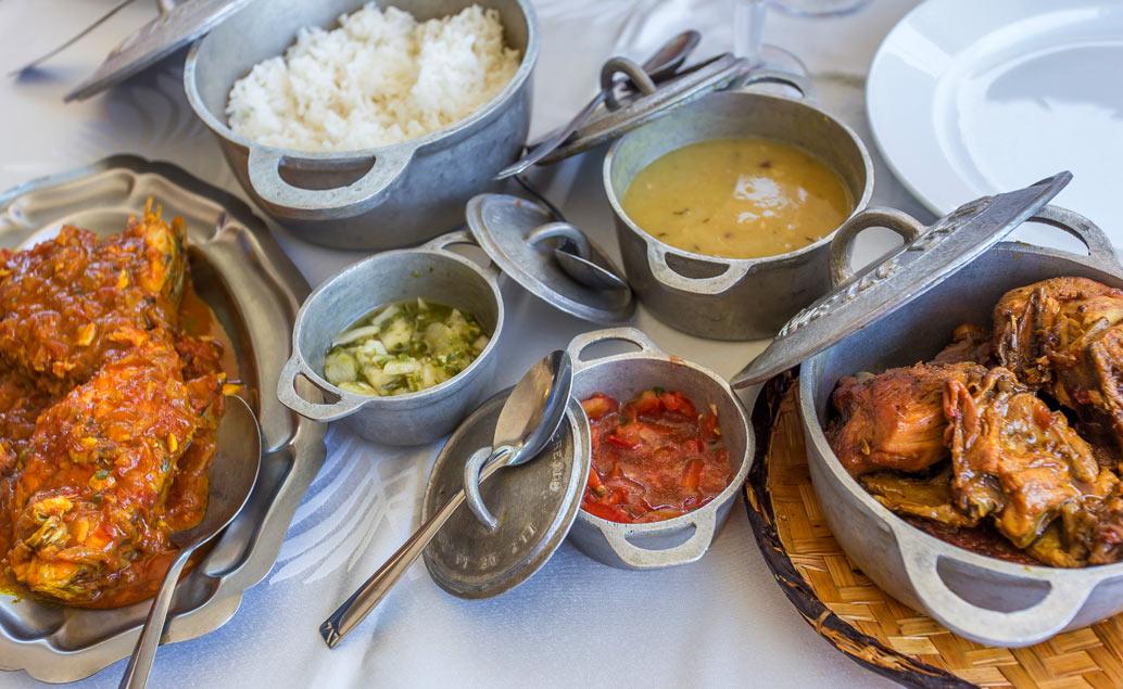 Jídlo a pití Réunionu