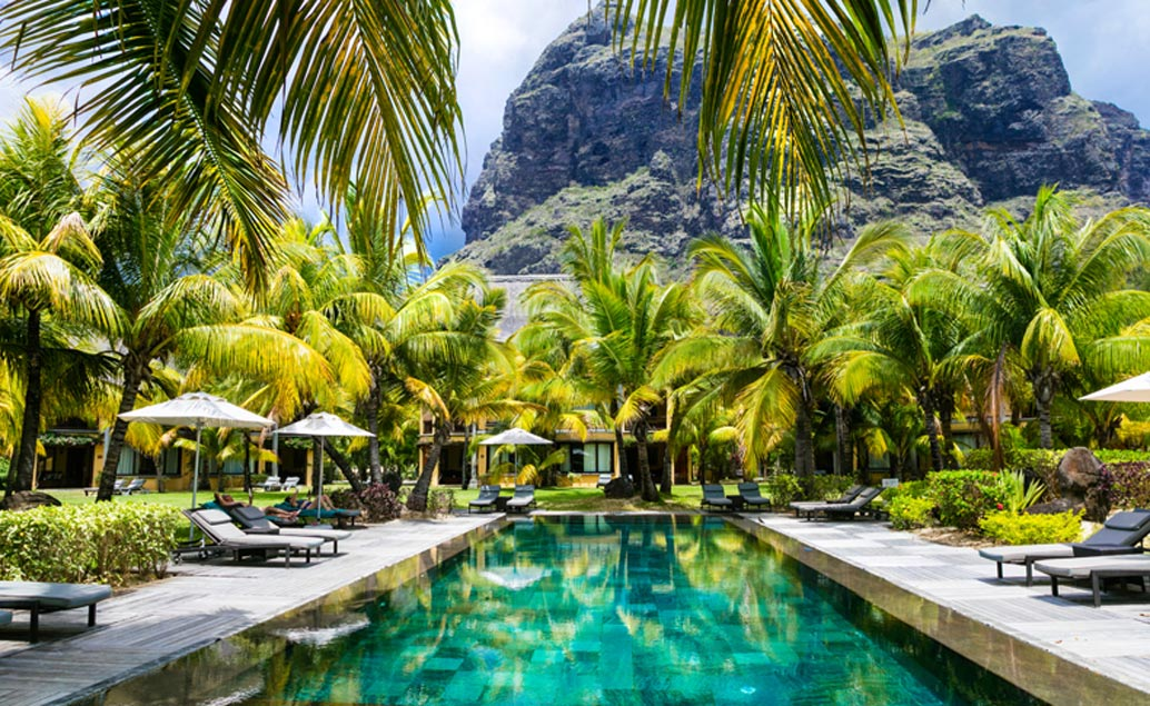 Luxusní jih ostrova Mauricius