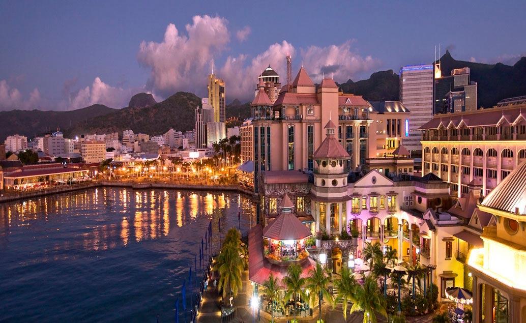 Hlavní město Mauricia - Port Louis