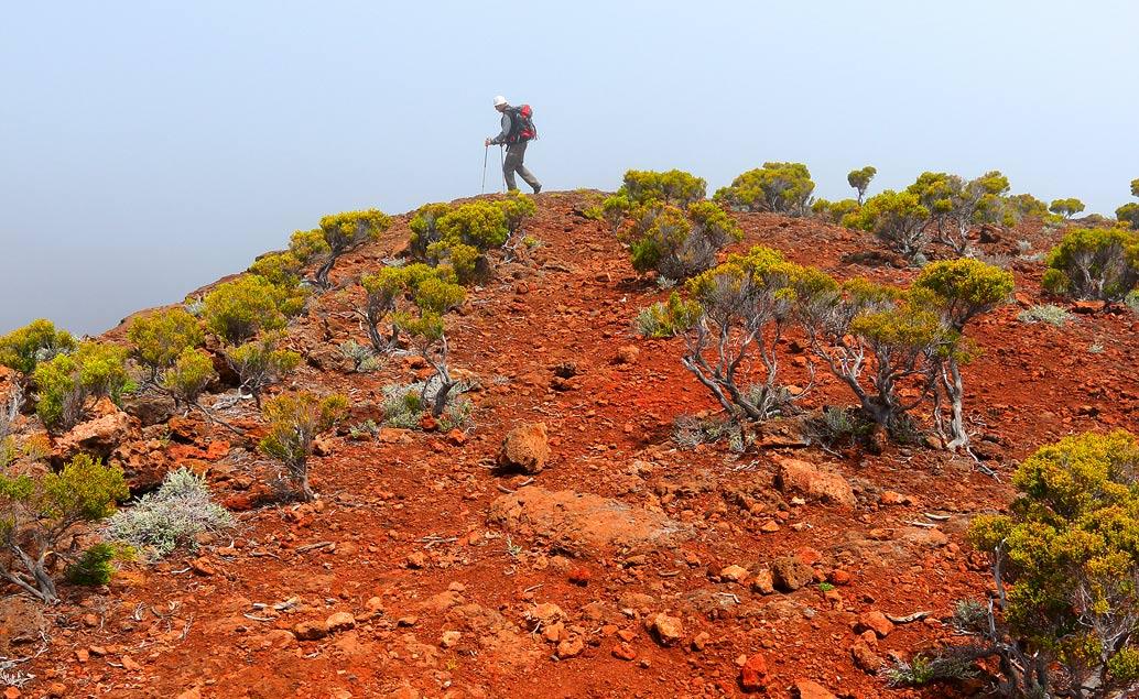Horská turistika na ostrově Réunion