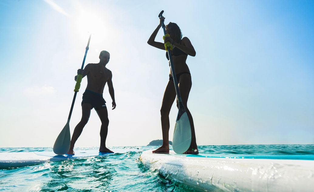 Vodní sporty na Réunionu