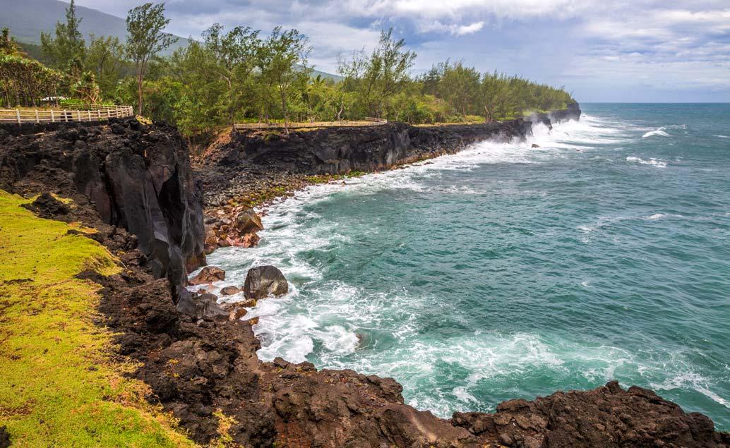 Západ ostrova Réunion