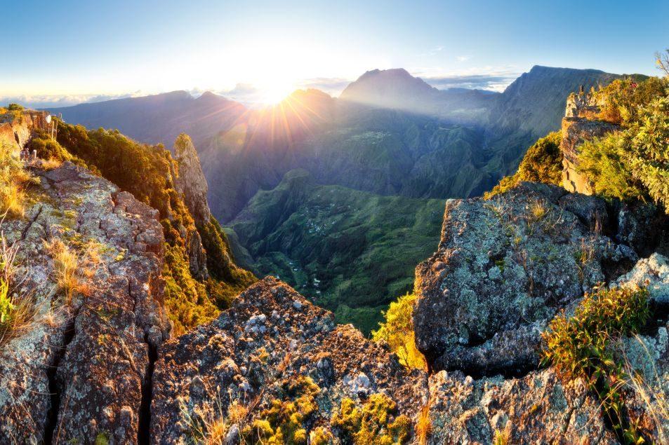 Krásy kaldery Mafate