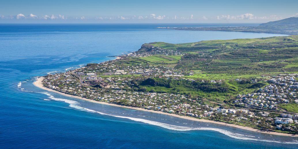 Příroda a pláže Réunionu
